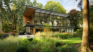 new house in Blairgowrie Perthshire by Scottish architect